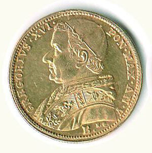 obverse: BOLOGNA - Gregorio XVI (1831-1846) - 5 Scudi 1835 A.V.