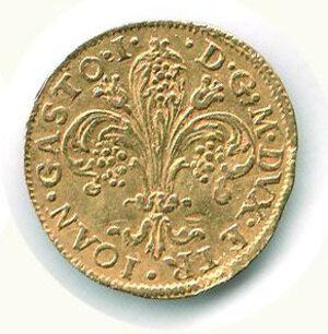 reverse: FIRENZE - Gian Gastone de Medici - Zecchino 1733