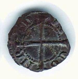 reverse: GENOVA - Repubblica (1139-1339) - Denaro minuto - MIR 18. .