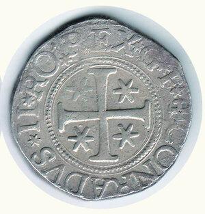 reverse: GENOVA - Dogi biennali - Scudo al castello 1623 G.F.