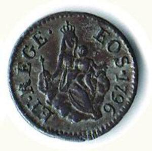 reverse: GENOVA - 8 Denari 1796