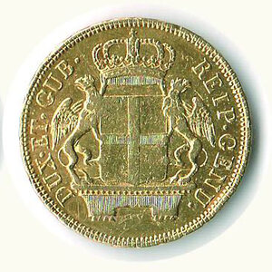 reverse: GENOVA - 48 Lire 1796