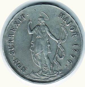 obverse: GENOVA - 8 Lire 1796
