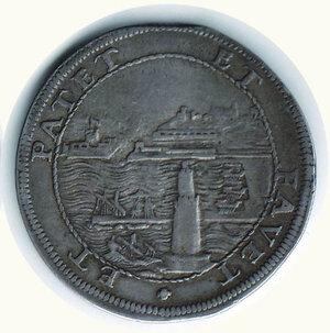reverse: LIVORNO - Cosimo III - Tollero 1687.