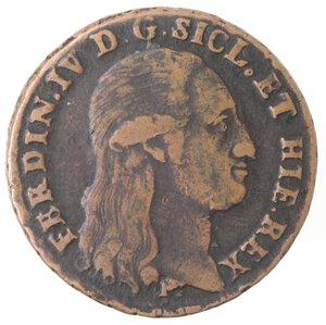 obverse: Napoli. Ferdinando IV. 1759-1799. 8 Tornesi 1797.