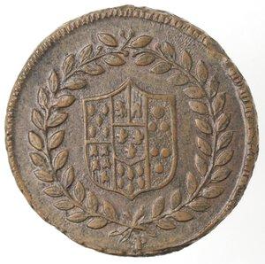 obverse: Napoli. Ferdinando IV.  1759-1798. 5 Tornesi1798. Ae.