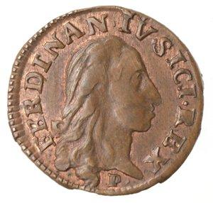 obverse: Napoli. Ferdinando IV. 1759-1799. 3 Cavalli 1788. Ae.