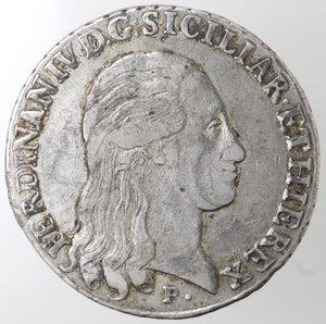 obverse: Napoli. Repubblica Napoletana. 1799. Piastra 1798. D. G punto punto. Ag.