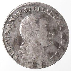 obverse: Napoli. Repubblica Napoletana. 1799. Tarì 1798. punto punto. Ag.