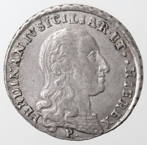 obverse: Napoli. Repubblica Napoletana. 1799. Tarì 1798. ET punto punto. Ag.