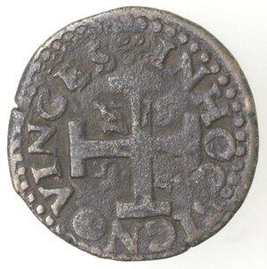 reverse: Napoli. Carlo V. 1516-1554. Tre Cavalli. Senza sigle. Ae.