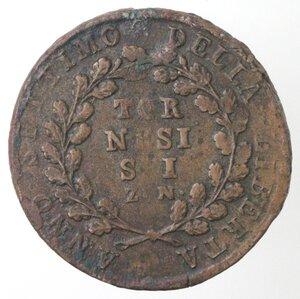 reverse: Napoli. Repubblica Napoletana. 1799. 6 Tornesi Z. N. Ae.