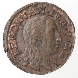 obverse: Napoli. Ferdinando IV. 1804-1805. 3 Cavalli 1804. Ae.