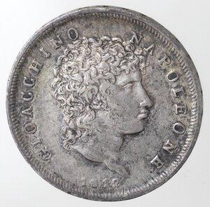 obverse: Napoli. Gioacchino Murat. 1808-1815. Lira 1812. Ag.