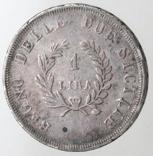 reverse: Napoli. Gioacchino Murat. 1808-1815. Lira 1812. Ag.