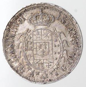 reverse: Napoli. Ferdinando I. 1816-1825. Carlino 1818. Ag.