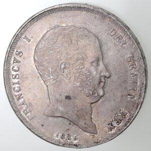 obverse: Napoli. Francesco I. 1825-1830. Piastra 1826. Ag.