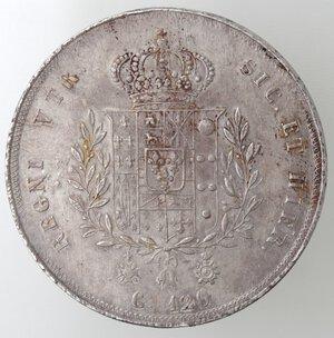 reverse: Napoli. Francesco I. 1825-1830. Piastra 1826. Ag.