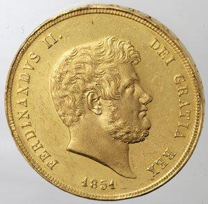 obverse: Napoli. Ferdinando II. 1830-1859.30 Ducati 1851. Au.