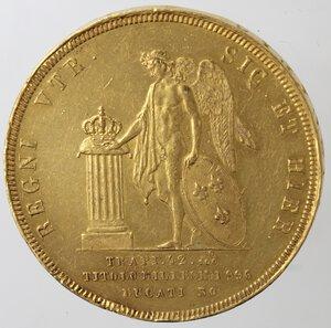 reverse: Napoli. Ferdinando II. 1830-1859.30 Ducati 1851. Au.