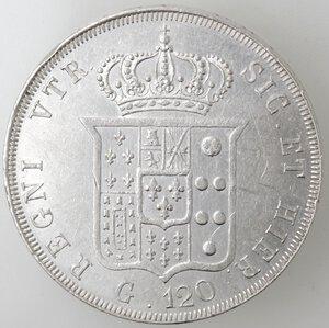 reverse: Napoli. Ferdinando II. 1830-1859.Piastra 1839. Ag.