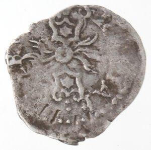 reverse: Napoli. Filippo II. 1554-1556. Grano. Ag.