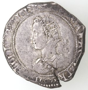obverse: Napoli. Filippo III. 1598-1621. Mezzo Ducato 1609. Ag.