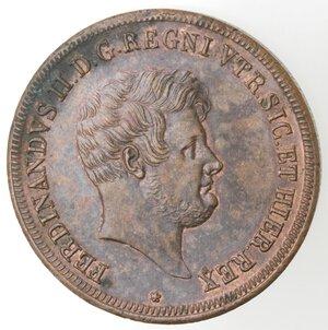 obverse: Napoli. Ferdinando II. 1830-1859. 5 Tornesi 1847. Ae.
