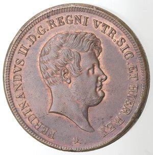 obverse: Napoli. Ferdinando II. 1830-1859. 5 Tornesi 1849. Ae.