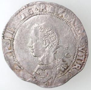 obverse: Napoli. Filippo III. 1598-1621. Mezzo Ducato 0I6I invece di 1610. Ag.