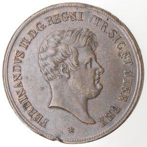 obverse: Napoli. Ferdinando II. 1830-1859. 5 Tornesi 1858. Ae.