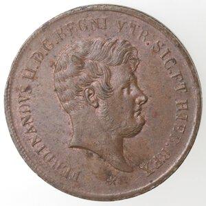 obverse: Napoli. Ferdinando II. 1830-1859. 5 Tornesi 1859. Ae.