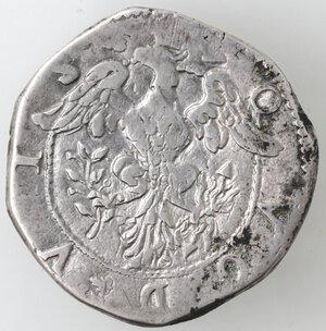 reverse: Napoli. Filippo III. 1598-1621. Mezzo Scudo 1617. Ag.