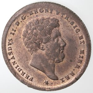 Napoli. Ferdinando II. 1830-1859. 2 Tornesi 1853. Ae.