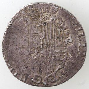 reverse: Napoli. Filippo III. 1598-1621. Tarì. Ag.