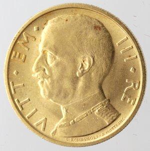 obverse: Vittorio Emanuele III. 1900-1943.50 Lire 1932 Anno X. Au.