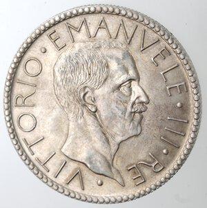 obverse: Vittorio Emanuele III. 1900-1943. 20 Lire 1927 Littore. Ag.