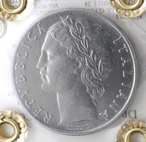 Repubblica Italiana. 100 lire 1960. Ac.