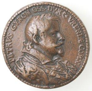 obverse: Napoli. Medaglia 1618. Pietro Giron Vicerè di Napoli e Duca di Osuna. 1574-1624. Ae.