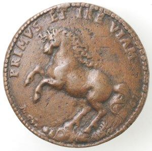 reverse: Napoli. Medaglia 1618. Pietro Giron Vicerè di Napoli e Duca di Osuna. 1574-1624. Ae.