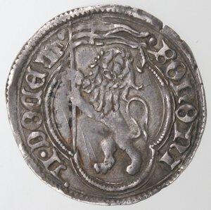 reverse: Bologna. Anonime pontificie XV secolo. Grosso. Ag.