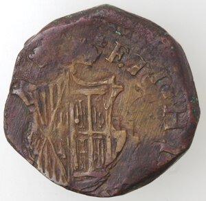 reverse: Napoli. Filippo IV. 1621-1665.Grano. Ae.
