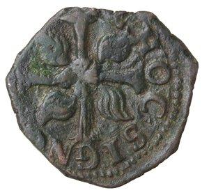 reverse: Napoli. Filippo IV. 1621-1665. 3 Cavalli 1646. Ae.