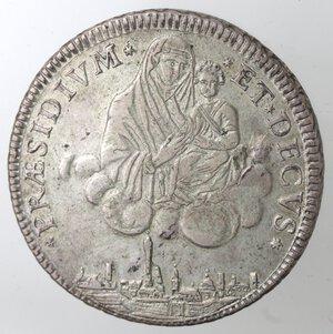 reverse: Bologna. Governo Popolare. 1796-1797. Scudo da 10 Paoli 1796. Ag.