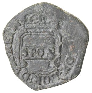 obverse: Napoli. Repubblica Napoletana. 1647-1648. Tornese 1648. Ae.