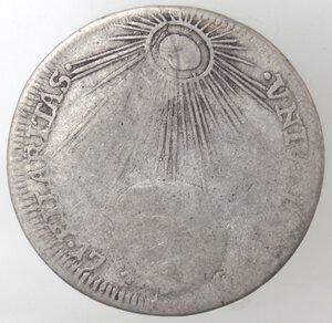 reverse: Napoli. Filippo V. 1700-1707. Tarì 1701. Senza sigle. Ag.