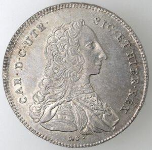 obverse: Napoli. Carlo di Borbone. 1734-1759. Piastra 1752. Ag.