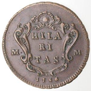 reverse: Napoli. Carlo di Borbone. 1734-1759. Grano 1756. Ae.
