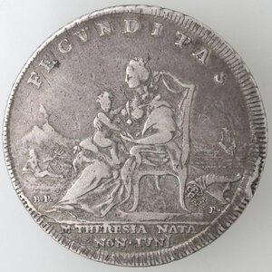 reverse: Napoli. Ferdinando IV. 1759-1798.Piastra 1772. Ag.