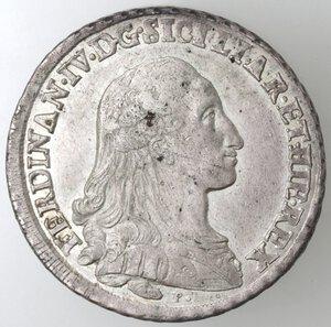 obverse: Napoli.Ferdinando IV. 1759-1798.Piastra 1786 P punto. Ag.